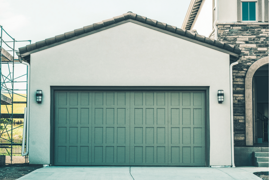 Garage for a home