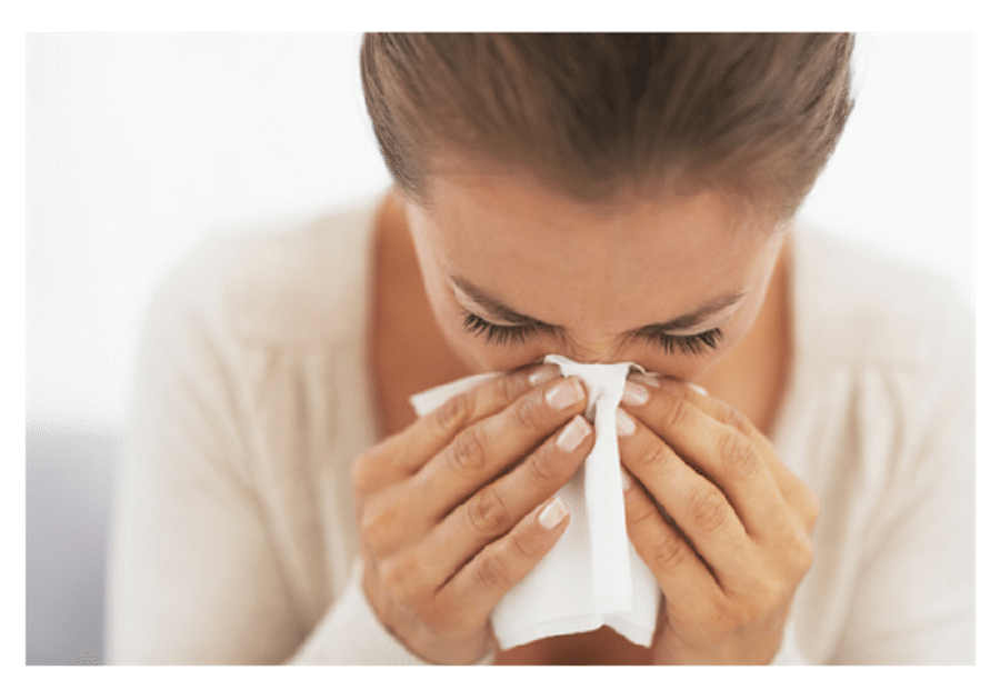 Sudden allergies in the home